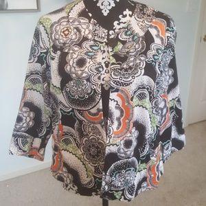 Colorful summer topper, jacket.